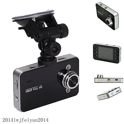 "Auto Tachograph 2.4"" Full HD 1080P Car Camera DVR Camcorder Video Recorder K6000"