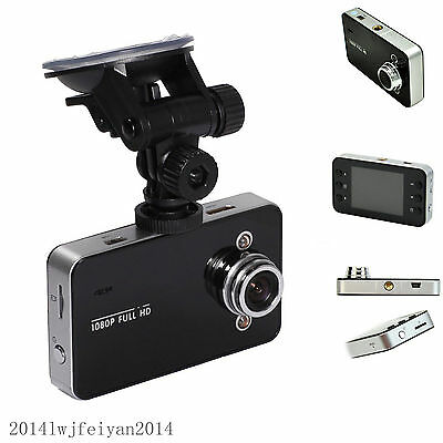 "Auto Tachograph 2.4"" Full HD 1080P Car Camera DVR Camcorder Video Recorder K6000"