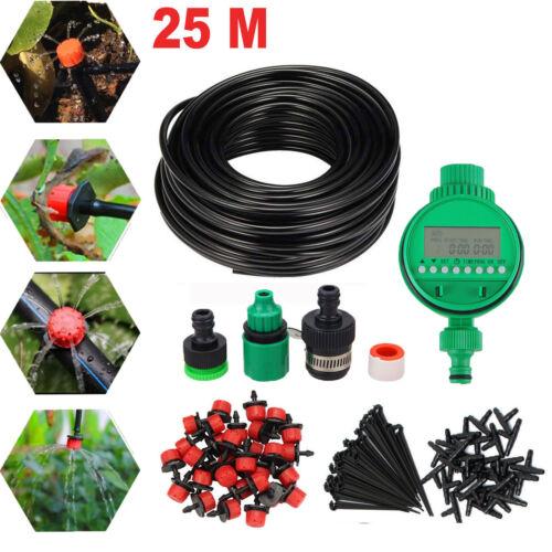 25M Bewässerungssysteme Sprinkler Drip Irrigation Bewässerung Gewächshaus Neu