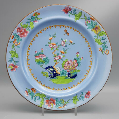 "19th C. Spode ""Willis"" Blue Plate Pattern #2170"