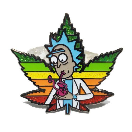 Wubba Lubba Dab Dab Cannabis Satire Dab Hard Enamel Pin Rick and Morty