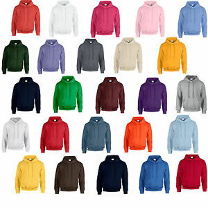 GILDAN-HOODED-SWEATSHIRT-HOODIE-25-COLOURS-ALL-SIZES