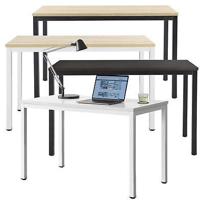 en.casa Schreibtisch mit Regal Bürotisch Computertisch Arbeitstisch PC Tisch