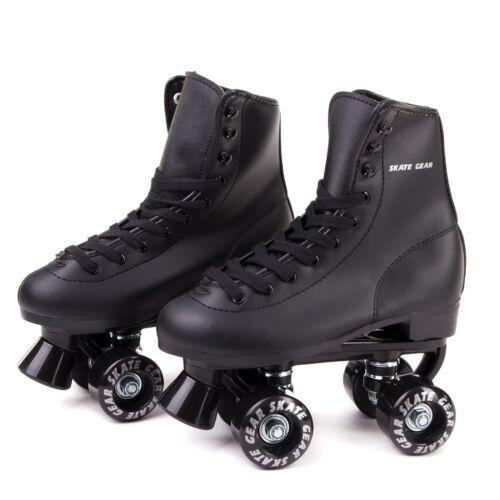 Skate Gear Roller Skate Kids Youth Adult Men Women Size Black White Purple Pink