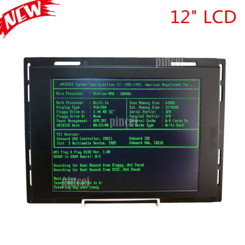 """12"""" LCD Monitor for HASS VF1 VF2 VF3 9-Pin 28HM-NM4 CRT Monitor Replacement"""
