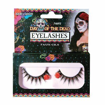 Tag der toten Wimpern, Halloween-Abendkleid-Partei-Kostüm Make-up #DE ()
