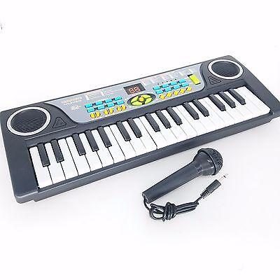 Kids Children 37 Key FM Radio Toy Mic Electronic Keyboard Piano Musical instrume