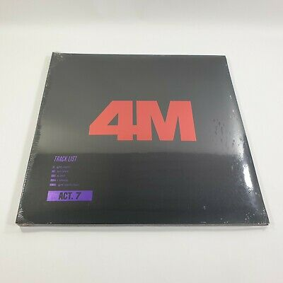 4minute 7th Mini album ACT. 7 Official Original CD Booklet Photocard KPOP Sealed