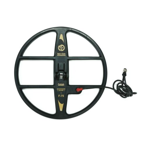 """Mars Goliath 15"""" DD WaterproofSearch Coil for Fisher F75 Metal Detector"""