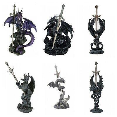 Nemesis Dragon (Nemesis Dragon Blade Letter Opener Ornament Gothic Room Desk Decor Figurine Gift )