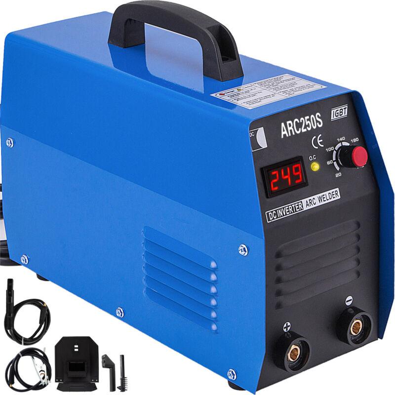 ARC-250S 250-Amp Stick Welder MMA ARC DC Inverter Welding Machine IGBT 110/220V