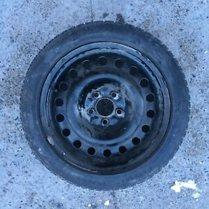 Set of 4 205/50R17 Tiger Paw winter tires on rims