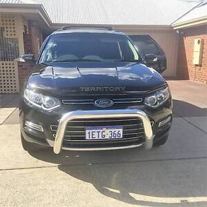 2011 Ford Territory Wagon Kensington South Perth Area Preview