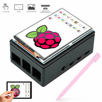 3.5 Display Monitor Lcd Touch Screen Set For Raspberry Pi 4 B Support 1920x1080