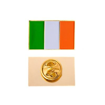 Flags Of Ireland (Country of Ireland Rectangle Flag Lapel)