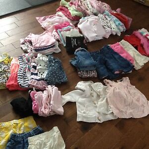 Full wardrobe girls 3-6 months