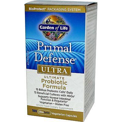 Garden of Life Primal Defense Ultra 180 Capsules Ultimate Probiotic Formula 13