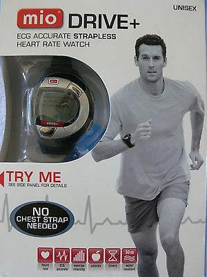 MIO DRIVE + ECG Accurate Strapless Heart Rate & Calorie Monitor  Unisex Watch