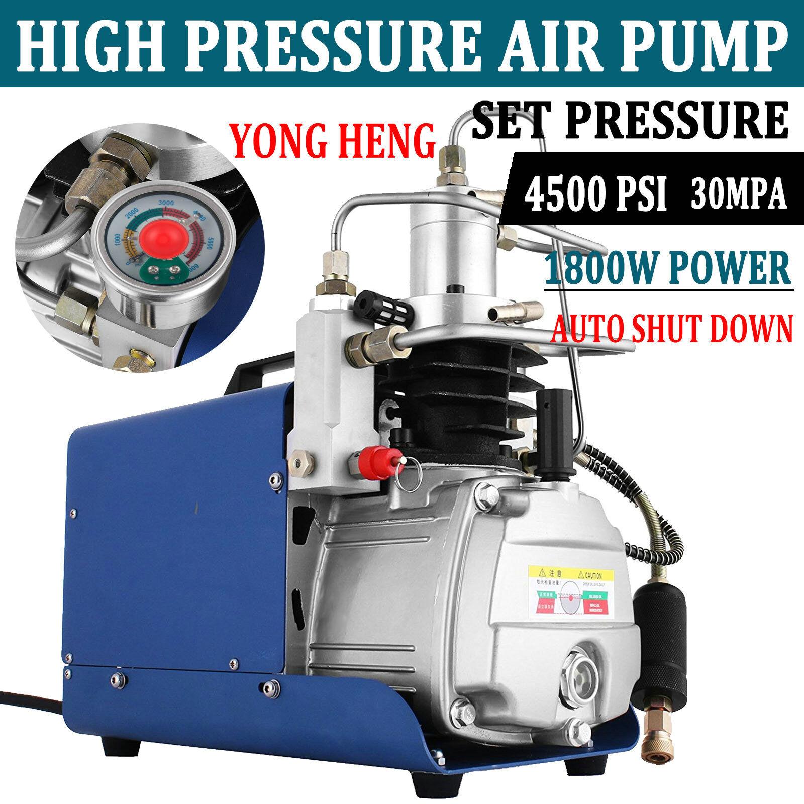 YONG HENG 30MPa Air Compressor Pump PCP Electric 4500PSI Hig