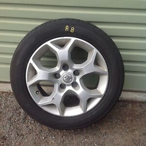 A8 Holden Astra 205/55/16 rims and tyres Kelmscott Armadale Area Preview
