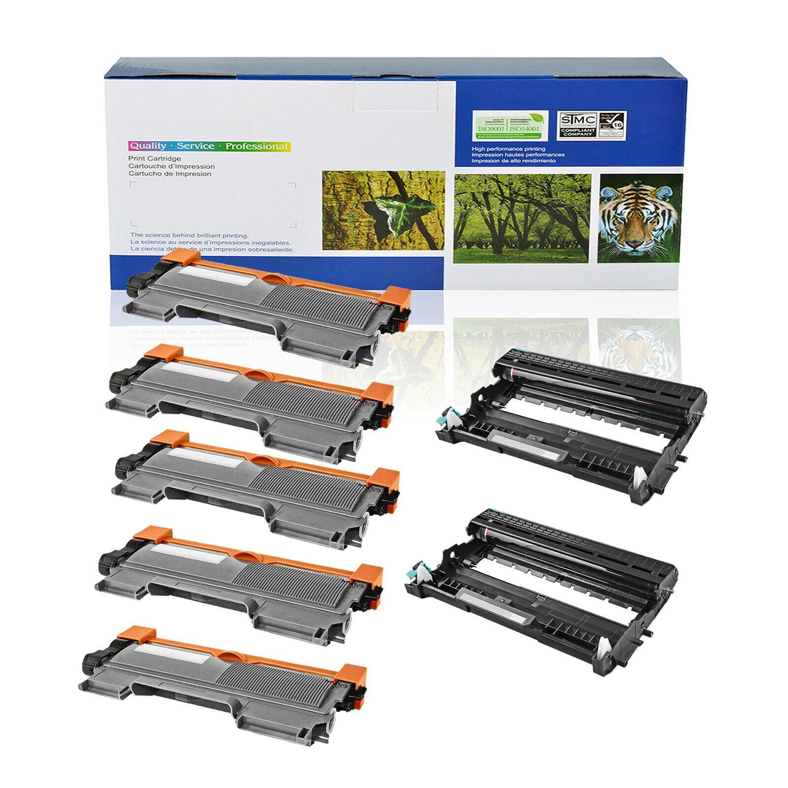 1PK TN350 Black Toner Cartridge For Brother FAX-2810 2820 2825 2910 2920 Series