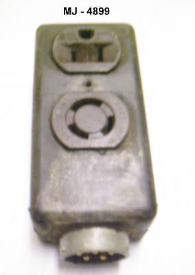 Rubber Coated Electrical Receptacle Outlet Connector Nos