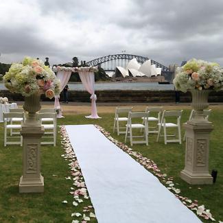 Wedding Ceremony Styling Sydney