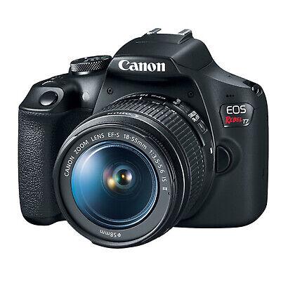Canon EOS Rebel T7 Kit w/EF-S 18-55mm IS II Lens *NEW*
