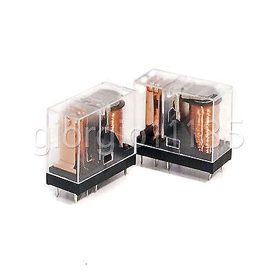 Us Stock G2r-1-e 12v Dc 16a Power Relay Spdt Pcb