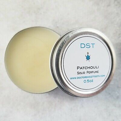 Patchouli Solid Perfume (PATCHOULI Essential Oil Scented Handmade Solid Perfume (.5oz))