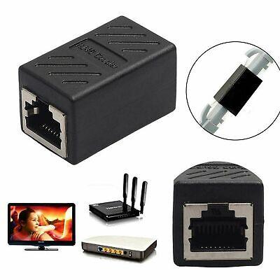 Acoplador en línea de red Ethernet RJ45 Cat7 Cat6 Adaptador De Cable...