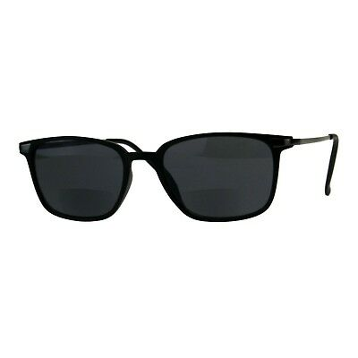 Bifocal Reading Lens Sunglasses Magnified Bottom Lens Stylish Rectangle (Magnifying Sunglasses Not Bifocal)