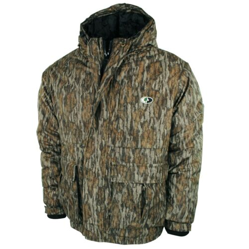 WPB Insulated Hunting Jacket for Men, Waterproof Camo Jacket in Bottomland Camo