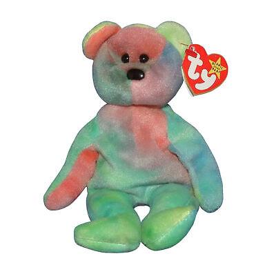 TY Beanie Baby - GARCIA the Ty-dyed Bear