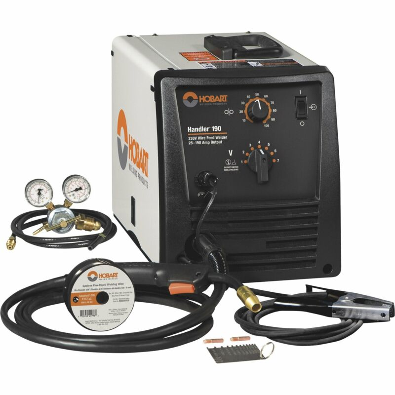 Hobart Handler 190 Flux-Core/MIG Welder - 230V, 190 Amp, Model# 500554