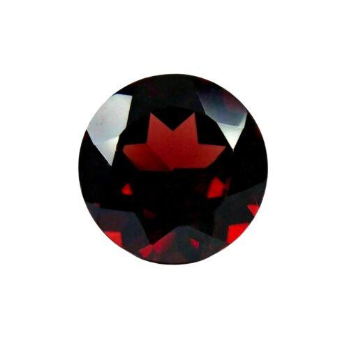 RED MOZAMBIQUE GARNET NATURAL LOOSE GEMSTONE ROUND 2.50 ct.