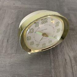 Vintage Westclox Big Ben Wind Up Alarm Clock Model with Glow in Dark Hands Works