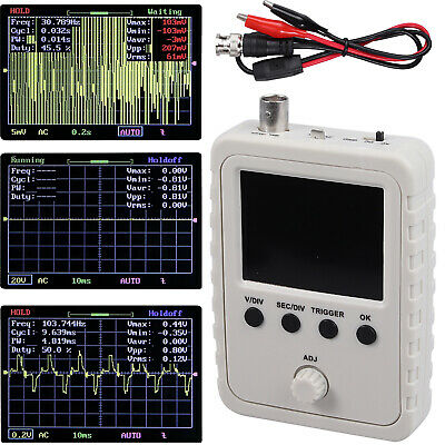 2.4 Dso Fniris Pro Digital Oscilloscope Assembled Lcd Display Wcase Test Clip