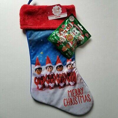 Elf Pets Merry Minis Mystery Figure & Elf On The Shelf Stocking Christmas Elves