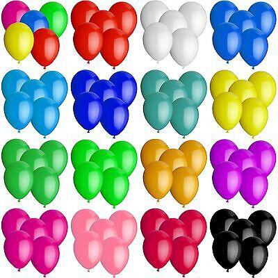 Luftballons Ø 30 cm Farbe & Stückzahl frei wählbar Ballons Helium Luftballon
