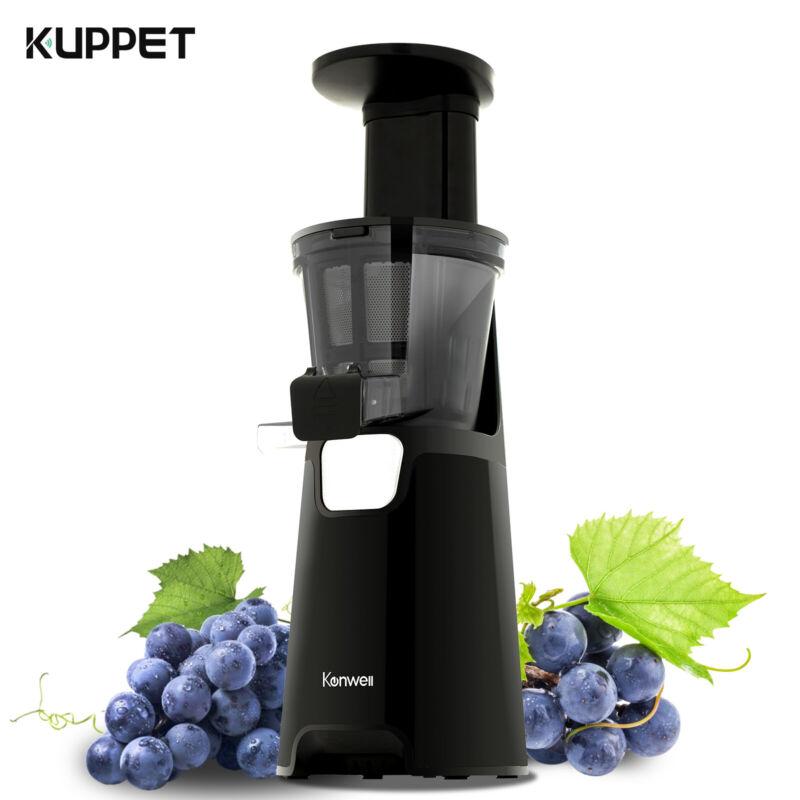 Slow Juicer Machine Cold Press Fruit Vegetable Juice Maker Masticating Extractor