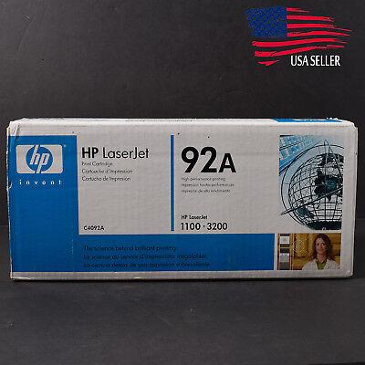 Laserjet 3200 1100 Printer - Genuine HP C4092A Toner Cartridge Laser Jet Printer 1100 3200 3220 NEW Factory