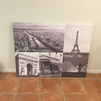 Paris Canvas (large) Oxenford Gold Coast North Preview