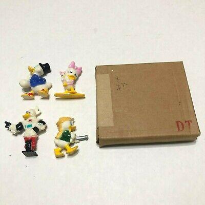 Vintage complete set 4 1991 Kellogg's Disney Duck Tails PVC figures New w/Box