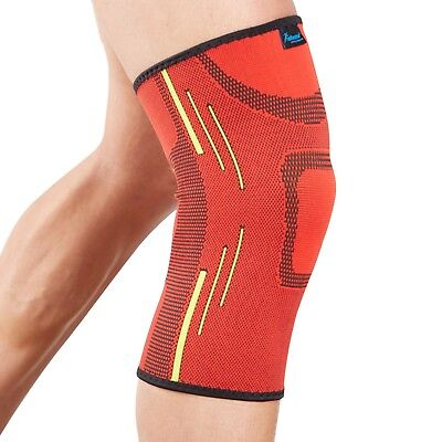 Actesso Sports Knee Support Sleeve - Sprain Pain Injury - Gym Running