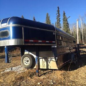 1998 Horse trailer for sale.