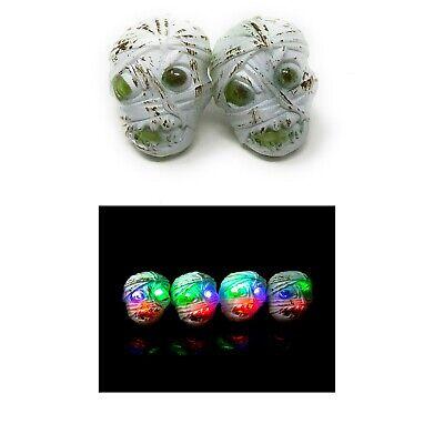 Mummy Flashing LED Plastic Rings Light Up Finger Glow Toy Party Bag Wholesale UK](Halloween Party Bags Uk)