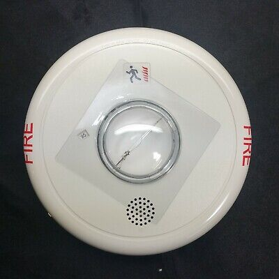 Edwards Egcf-hdvmh Fire Alarm Field Configurable Ceiling Horn Strobe White Nib