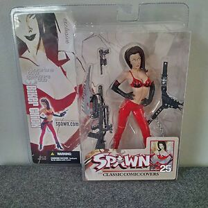 McFarlane Collector's Club Exclusive - Biker Chick Spawn figure