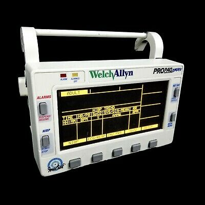Welch Allyn Propaq Encore 206 El Patient Vital Signs Monitor 2